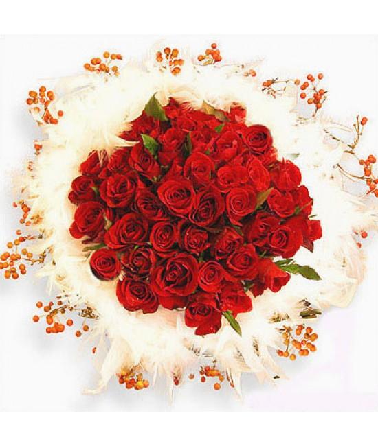 Amor - 50 ruží